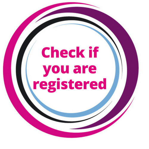 Check if you areregistered